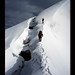 france-climbers-ridge-dome-miage