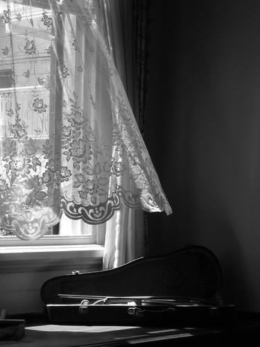 Window and Violin