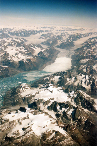 1999 Greenland_Glacier_in flight