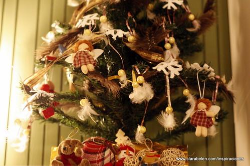 Inspiraciones manualidades y reciclaje rbol de navidad for Donde se compran los vinilos decorativos