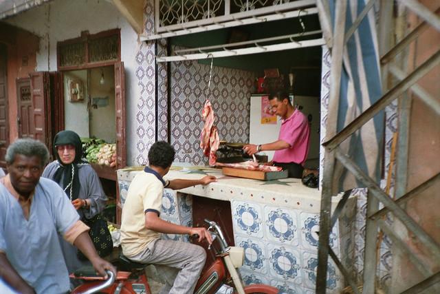 Market scene in the souks