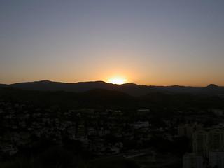 Image of Torre. sun sol dawn torre amanecer campo montaña malaga atalaya teatinos manuelfloresv