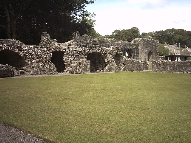 Cloisters, Dundrennan Abbey