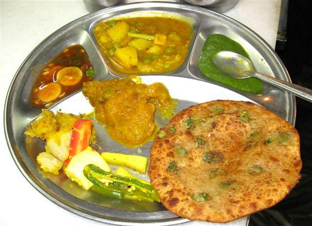 Platter-Parathe wali Gali-Delhi