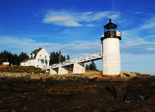 Lighthouse at Port Clyde