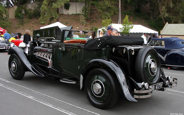 1931 Rolls Royce Phantom II 64GX Merlin Special DHC Wilkinsons - rvl