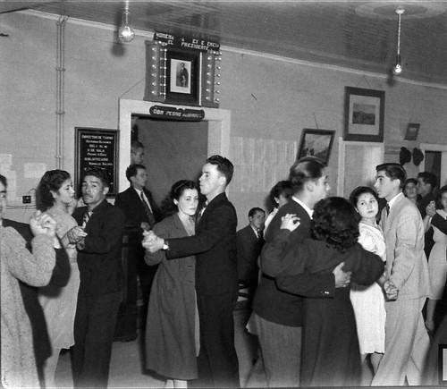 Noche de baile en el Club Radical