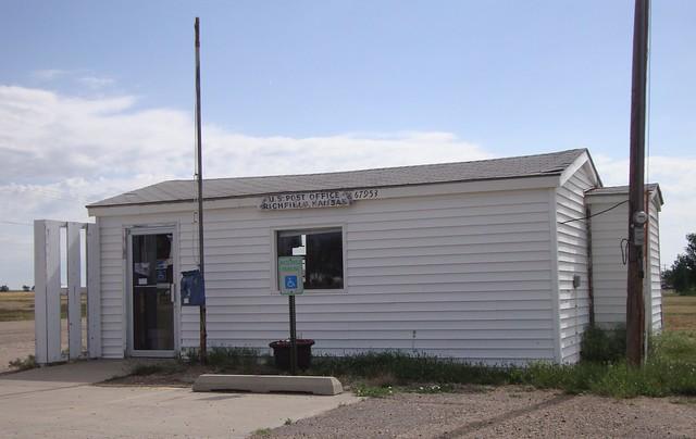 Post Office 67953 Richfield Kansas