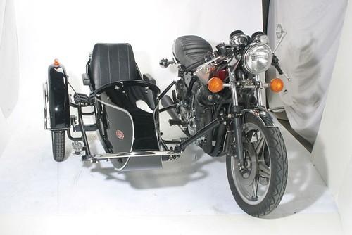 Honda with Cozy Euro Sidecar