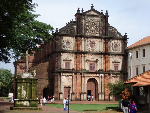 Old Goa's Basilica de Bom Jesus (1594)