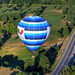 Balloon flight over the city by Jalca