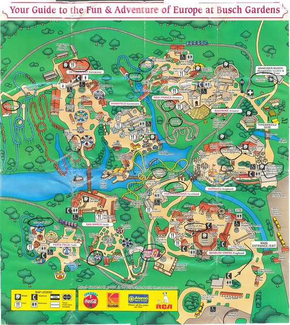 Scrapbook32 Page31 Stitched The Full Map Of Busch