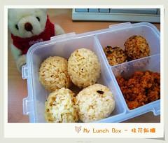 My Lunch Box - 桂花小飯糰