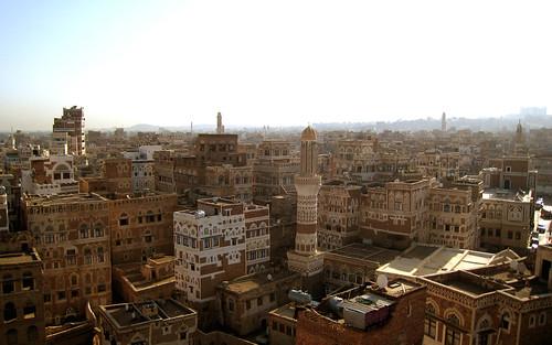 wallpaper medina yemen sanaa 1280x800