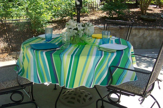 UMBRELLA VINYL TABLECLOTH RAINWEAR