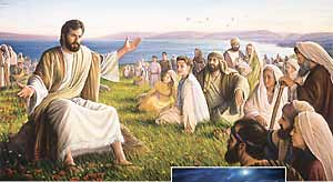Jesus predicando