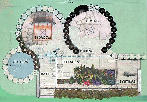 Earthship House Plans Floor Plans