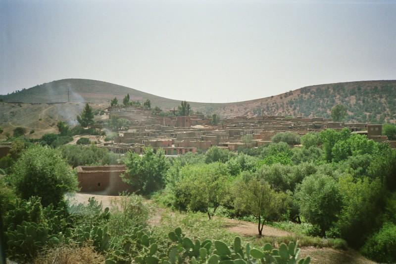 Outside Marrakesh