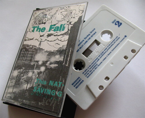 And this, children, is what they used to call a cassette: The Fall's This Nation's Saving Grace
