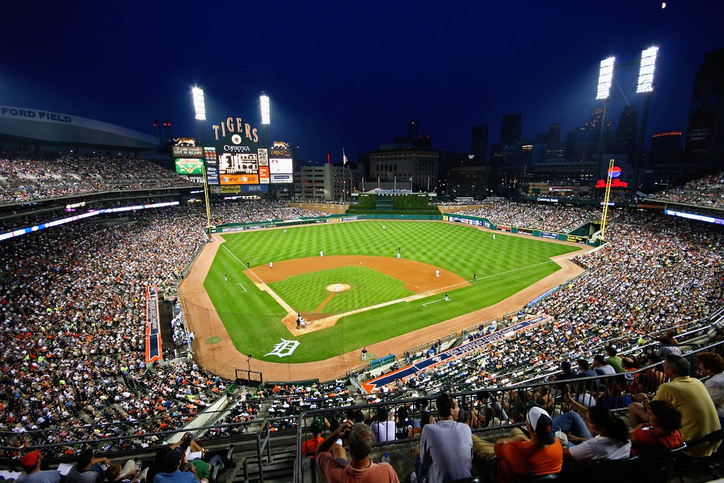 Comerica Park Detroit Michigan Heres To Another Summer A Flickr