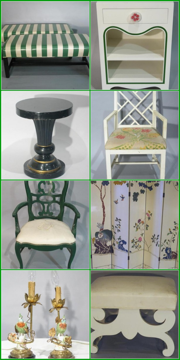 Dorothy draper auction for Affordable furniture greenbriar