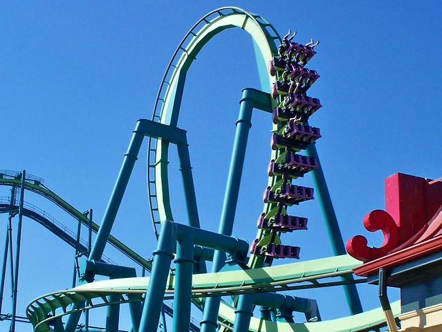 Cedar Point - Raptor Loop