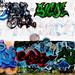 Querétaro Graffiti por Carl Campbell
