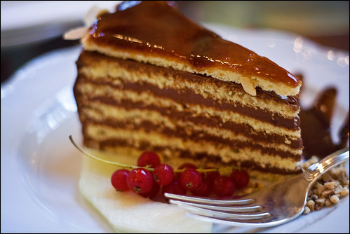 cake 'Dobos' (Dobos torta)