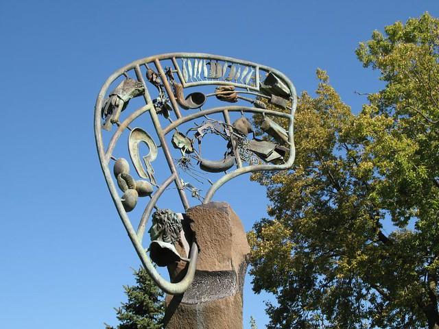 Sculpture in Gordon Park