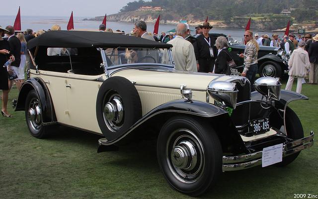 1930 Ruxton Model C Rauch & Lang Phaeton - fvr