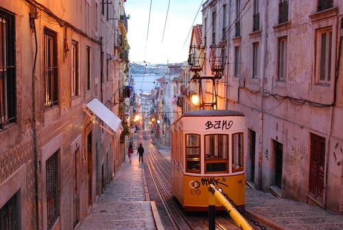 Night Tram to Lisbon