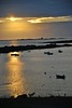 <p>Sonnenuntergang in St. Pabu, Frankreich</p>