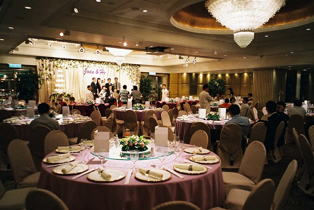 chinese wedding banquet langham hotel hongkong in hong kong