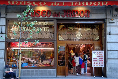 Madrid - the great value Museo del Jamon