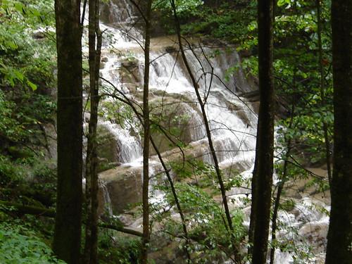 creek cabin falls
