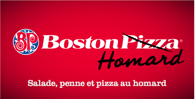 Panneau Boston Pizza