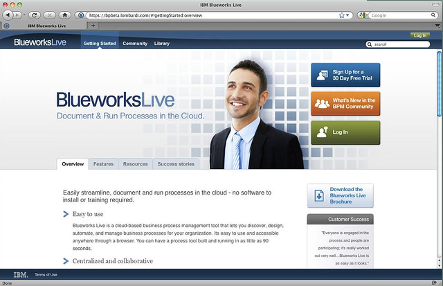 Blueworks Live Launch