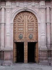 Morelia Cathedral Doors