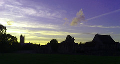View of Canterbury from St Augustines Abbey