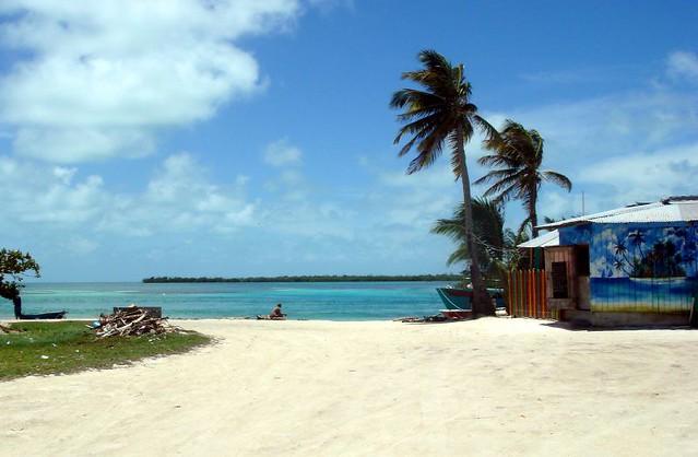 Caye Caulker пляж