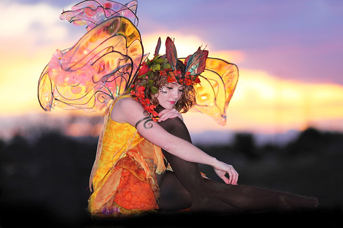Twig the Fairy at Sunset