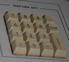 Tastiera del controllo siluri / Torpedo console keyboard