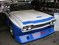race car, automobile, automotive exterior, vehicle, ford capri, bumper, ford, sedan, classic car, land vehicle, muscle car, coupã©,