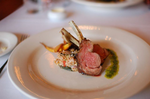 4th Course: Rack of Lamb