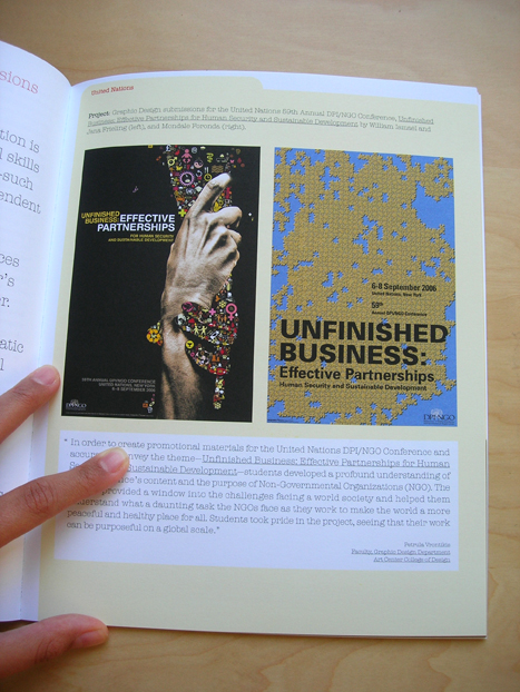 My Work in Dot Magazine (Image on the left)