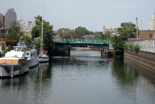 NYC - Gowanus Canal and Union Street Bridge