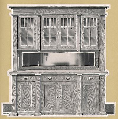 craftsman buffet from universal millwork 1920 flickr