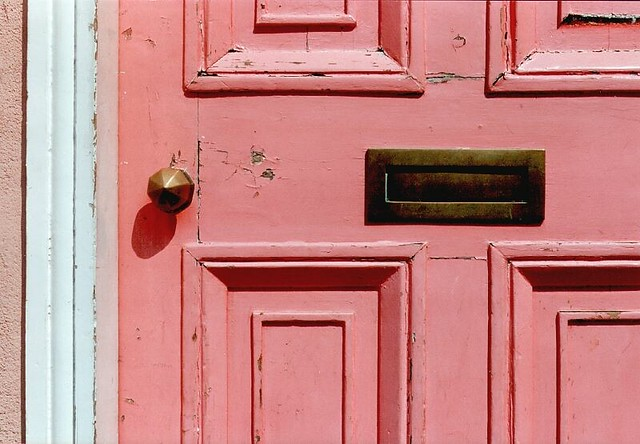 UK - Oxford - Pink Door 1 & pink door - a gallery on Flickr