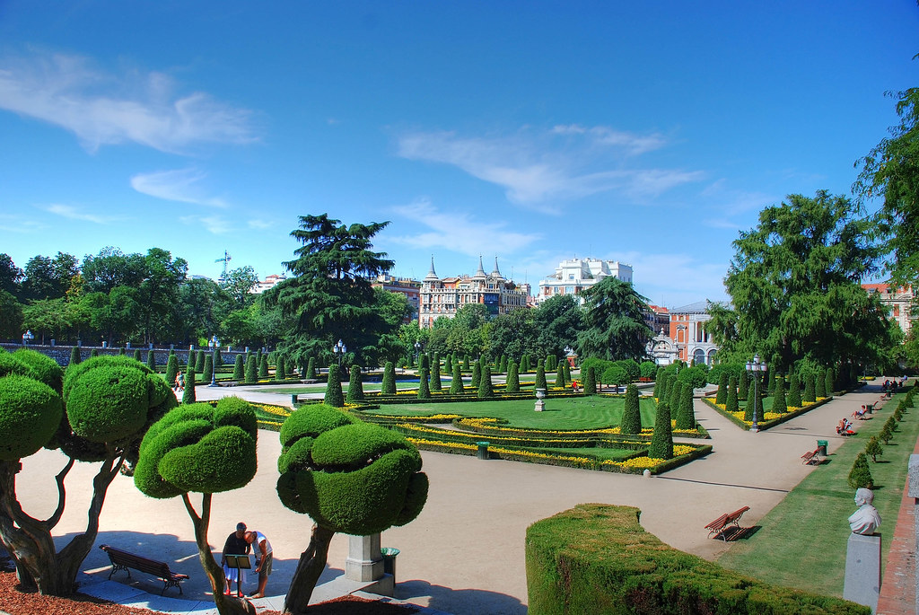 Madrid jardin del parterre parque del retiro a photo on flickriver - Parterre jardin ...