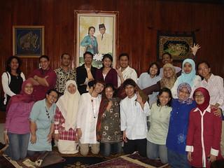 buka bersama teman2 s2 @ mutia hatta house